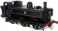Dapol 7S-007-012 57xx 0-6-0PT Pannier 8763 BR lined Black early crest